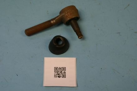 1963-1982 Corvette C2 C3 LH Thread Track Rod End Original, Used Fair